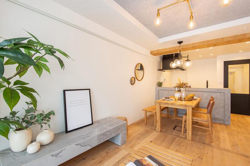 五反田 高級住宅地に佇むモダンな部屋