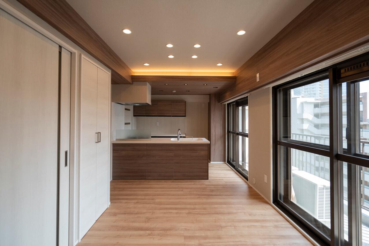 目黒サンライズマンション 明るさと開放感が魅力の南向きの住まい