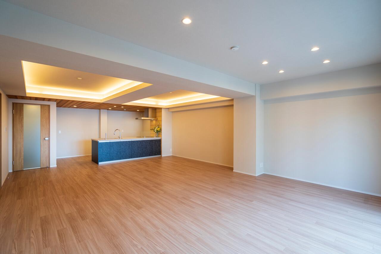 小石川 安藤坂東方マンション 129㎡超の開放感溢れる住まい