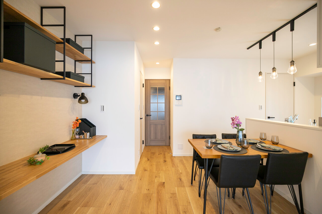 初台 空間を分けた暮らしやすい部屋