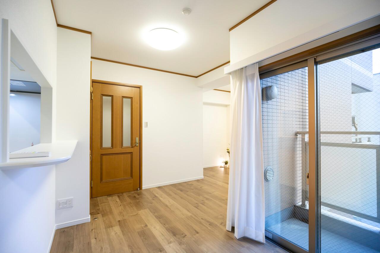 三ノ輪 3方向角部屋、全室採光が確保された明るい住まい